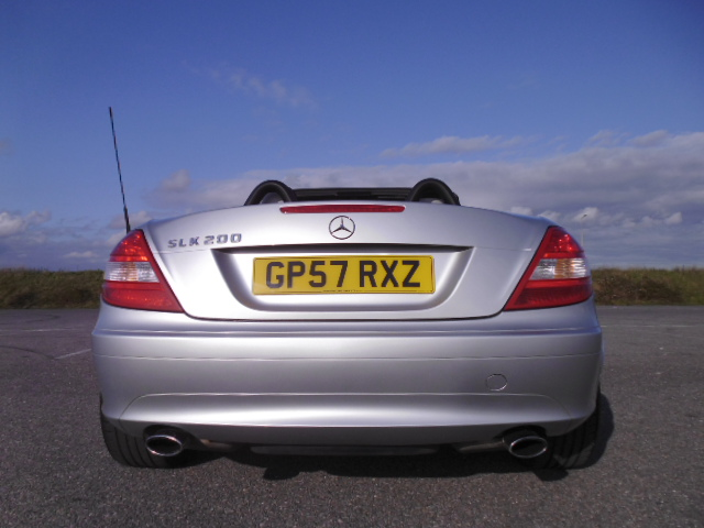 2007/57 MERCEDES SLK 200 1.8 SE LOW MILEAGE CONVERTABLE WITH FULL MERCEDES BENZ SERVICE HISTORY ! Image 5
