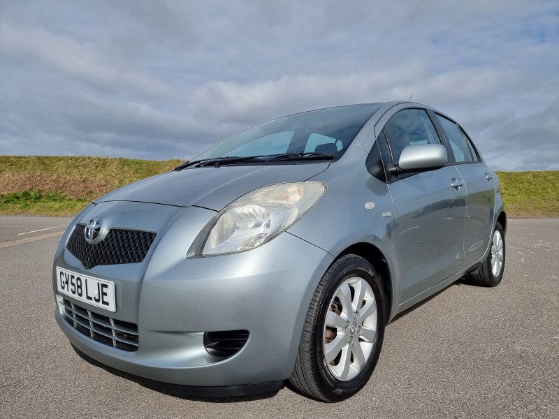 2008/58 TOYOTA YARIS 1.4 D-4D TR 5 DOOR, STUNNING AND ONLY £30/YEAR ROAD TAX ! Image 1