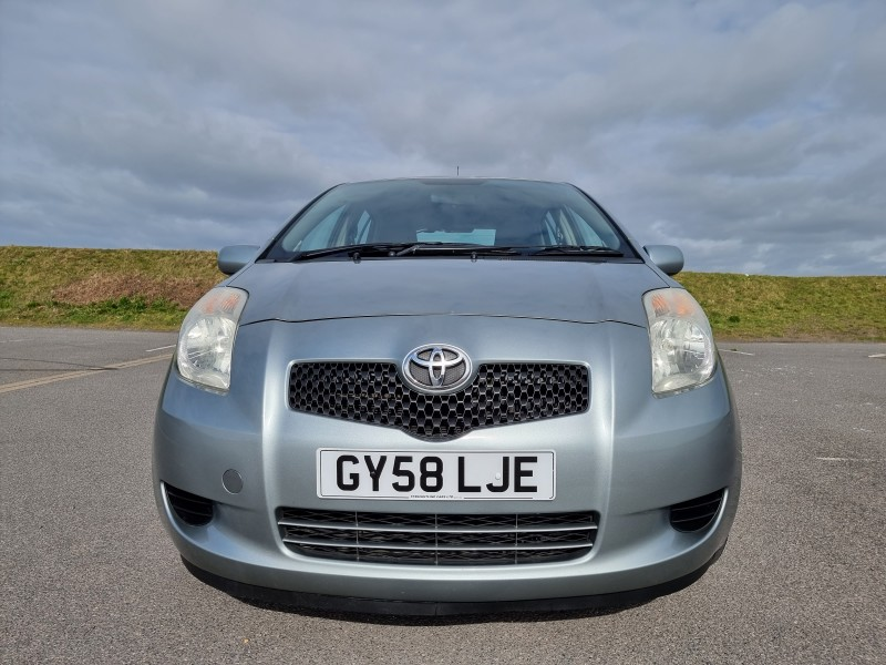 2008/58 TOYOTA YARIS 1.4 D-4D TR 5 DOOR, STUNNING AND ONLY £30/YEAR ROAD TAX ! Image 2