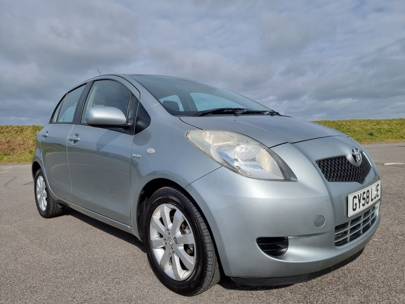 2008/58 TOYOTA YARIS 1.4 D-4D TR 5 DOOR, STUNNING AND ONLY £30/YEAR ROAD TAX ! Image 3
